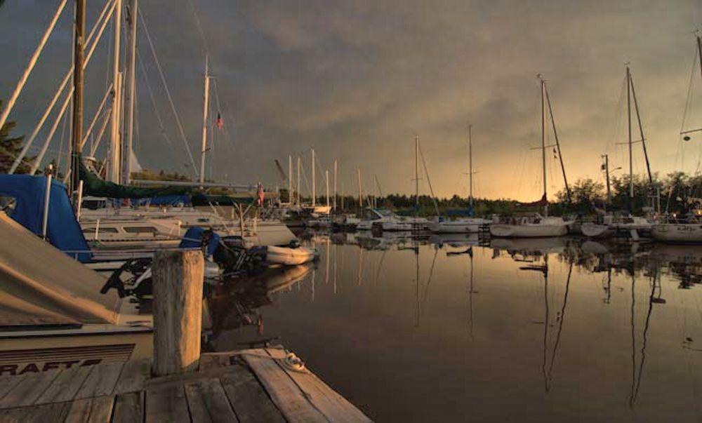 Siskiwit Bay Marina Campgound In Cornucopia Wisconsin